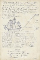 Nautical Journal I Fine Art Print