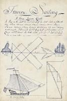 Nautical Journal II Framed Print