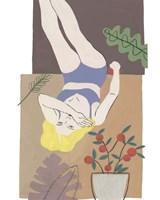Lying Woman II Framed Print