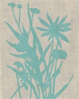 Dusk Botanical II Framed Print