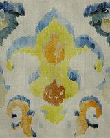 Bohemian Ikat II Framed Print