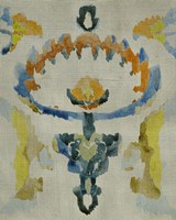 Bohemian Ikat VI Framed Print