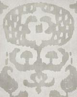 Shadow Ikat I Framed Print