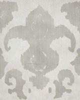 Shadow Ikat II Framed Print
