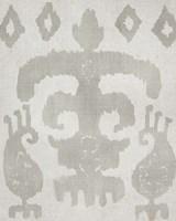 Shadow Ikat III Framed Print