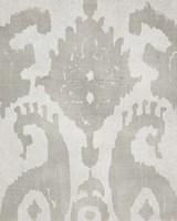 Shadow Ikat V Framed Print