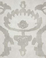 Shadow Ikat VI Framed Print
