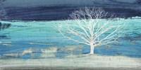 Treescape #3 (Azure) Fine Art Print