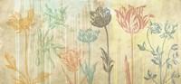 Botaniques Cochin #2 (coleurs) Fine Art Print