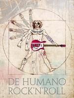De Humano Rock'n'roll Fine Art Print