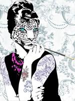 Smoking Diva Fine Art Print