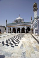 Shrine Of Shah Abdul Latif Bhittai, Bhit Shah, Sindh, Pakistan Fine Art Print