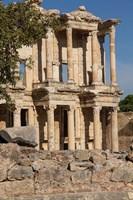 Turkey, Izmir, Kusadasi, Ephesus The Library Of Ephesus Fine Art Print