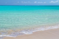 Bahamas, Little Exuma Island Ocean Surf And Beach Fine Art Print