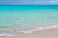 Bahamas, Little Exuma Island Ocean Surf And Beach Fine Art Print