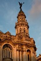 Cuba, Havana, Historic Building Fine Art Print