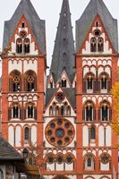 Germany, Hesse, Limburg An Der Lahn, St Georgsdom Cathedral, 13th Century Fine Art Print