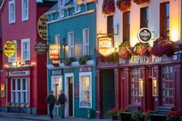 Pubs Along Strand Street, Dingle, County Kerry, Republic Of Ireland Fine Art Print