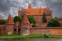 Poland, Malbork Medieval Malbork Castle Fine Art Print
