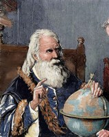Galileo Galilei (1564-1642) Fine Art Print