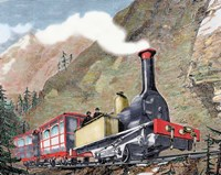 Old Railway 19th-Century Fine Art Print