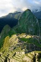 Peru, Machu Picchu, Morning Fine Art Print