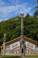 Alaska, Ketchikan, Totem Bight State Historical Park Fine Art Print