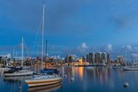 San Diego Harbor Skyline Fine Art Print