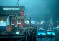 Fort Bragg Fishing Boats Fine Art Print