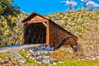 Bridgeport Covered Bridge Penn Valley, California Fine Art Print
