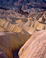 California, Death Valley NP, At Zabriskie Point Fine Art Print