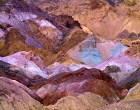California, Death Valley Np, Artist's Palette Fine Art Print