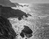 Big Sur Coast, California (BW) Fine Art Print