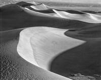 Californian Valley Dunes (BW) Fine Art Print
