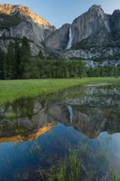 Early Morning At The Upper Yosemite Falls Fine Art Print