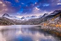 South Lake Near The Sierra Nevada Mountains Fine Art Print