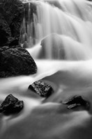Cascade In Lundy Canyon Fine Art Print
