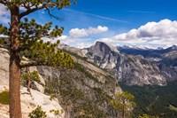 Half Dome From Yosemite Point Fine Art Print