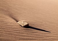 Rock And Ripples On A Dune, Colorado Fine Art Print