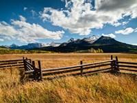 Dallas Divide, Last Dollar Ranch, Colorado Fine Art Print