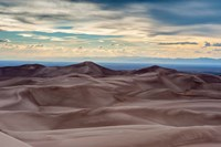 Great Sand Dunes National Park And Sangre Cristo Mountains, Colorado Fine Art Print