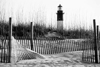 Tybee Island Lighthouse, Savannah, Georgia (BW) Fine Art Print