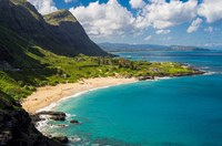 Makapuu Beach, East Oahu, Hawaii Fine Art Print