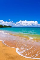 Hanalei Bay, Island Of Kauai, Hawaii Fine Art Print