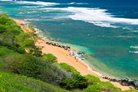 Larsen's Beach, North Shore, Island Of Kauai, Hawaii Fine Art Print