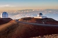 Mauna Kea Observatory Hawaii Fine Art Print