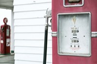 Antique Gas Pump, Route 66 Fine Art Print