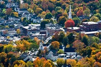 Autumn In Camden Harbor, Maine Fine Art Print