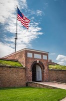 Historic Fort Mchenry, Birthplace Of The Star Spangled Banner Fine Art Print