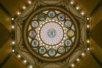 Rotunda Ceiling, Massachusetts State House, Boston Fine Art Print